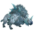 Lifelike Mechanical Frostboar