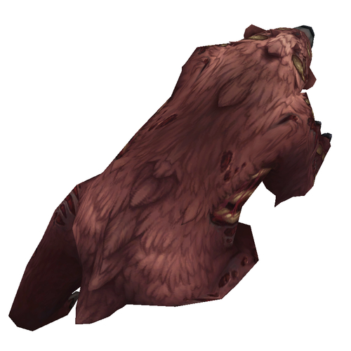 Diseased Brown Bear