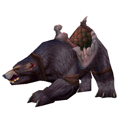 Brown Battle Bear
