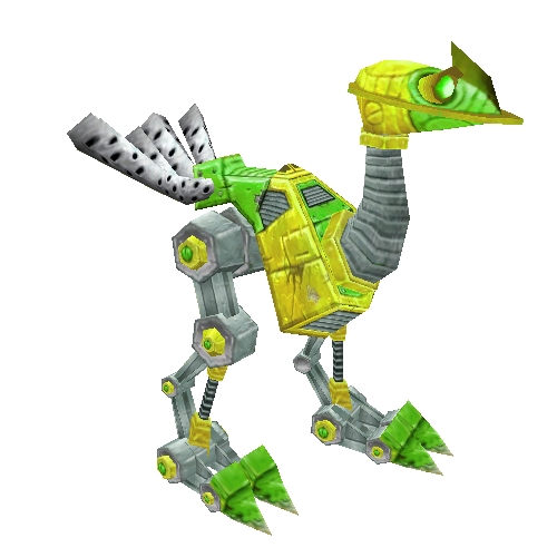Fluorescent Green Mechanostrider