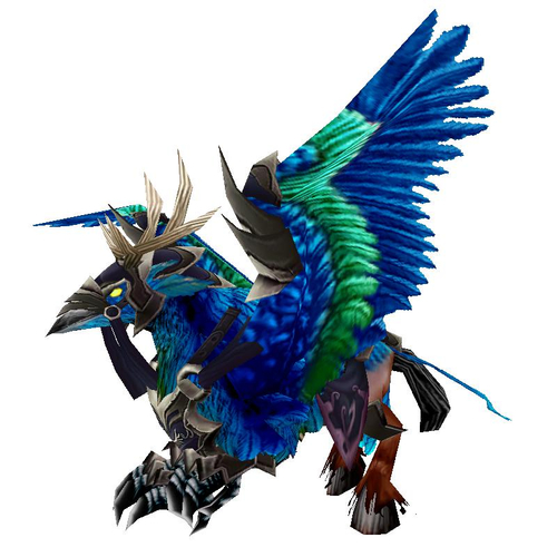 Blue Hippogryph