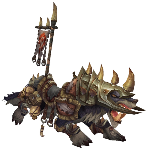 Brown Armoured War Wolf