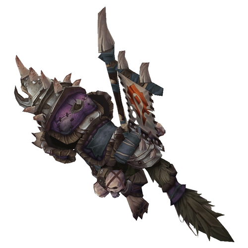 Purple Armoured War Wolf