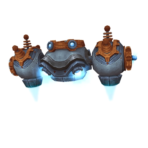 Copper-Grey Gnome Aerial Unit