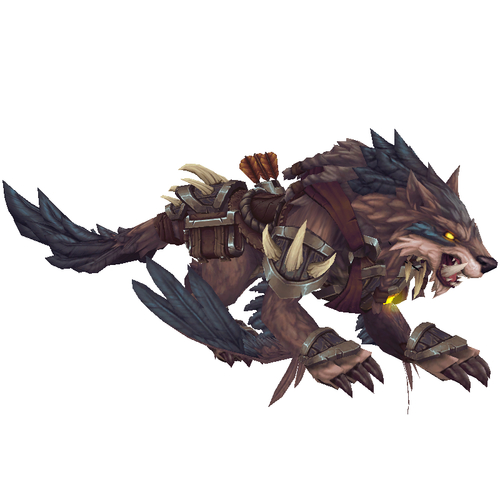 Huntmaster's Dire Wolfhawk