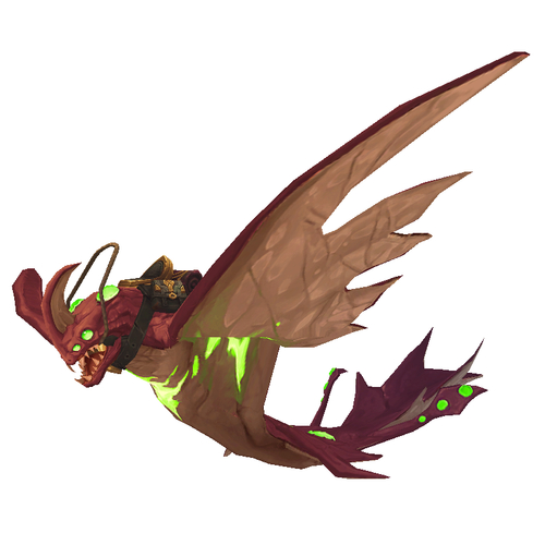 Warcraft Mounts Felglow Mana Ray