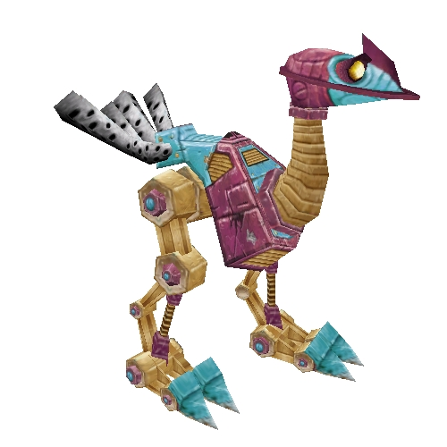 Purple Mechanostrider