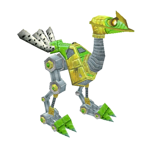 Green and Yellow Mechanostrider