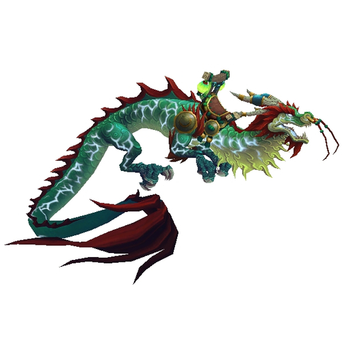 Thundering Jade Cloud Serpent