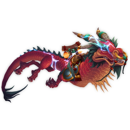 Thundering Ruby Cloud Serpent