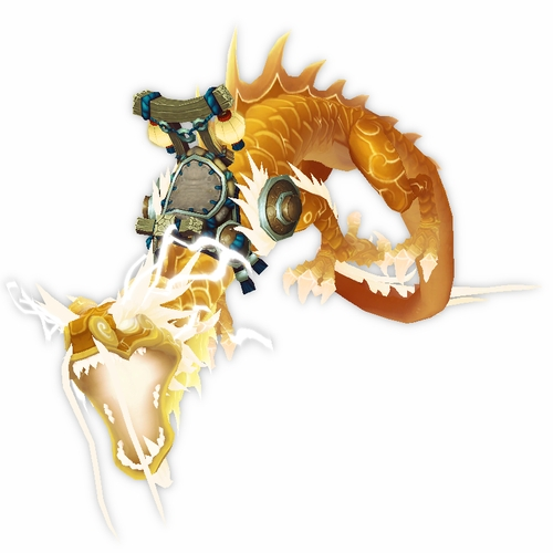 Heavenly Golden Cloud Serpent