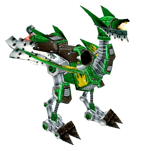 Swift Green Mechanostrider