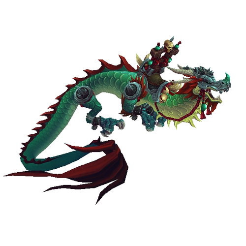 Gladiator's Jade Cloud Serpent