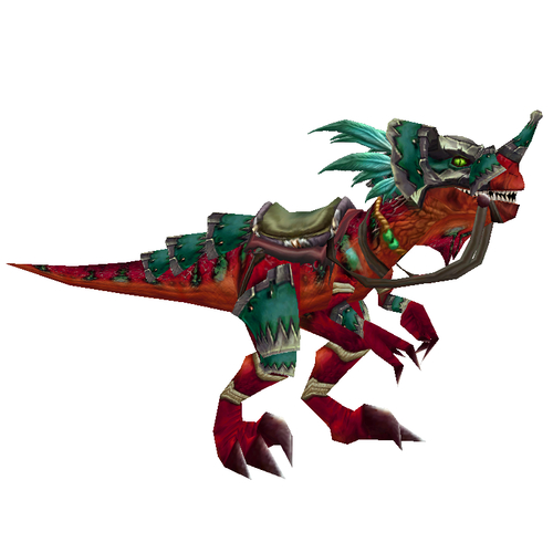Armored Razzashi Raptor