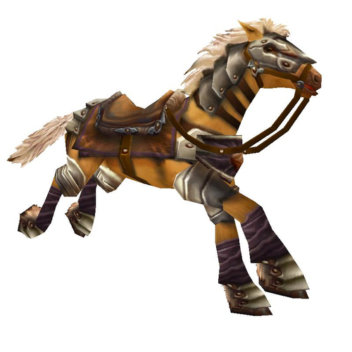Golden War Steed