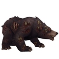Diseased Dark Bear