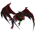 Spiked Red Felbat