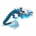 Heavenly Azure Cloud Serpent