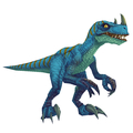 Bare Blue Raptor