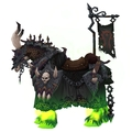 Black Skeletal Warhorse