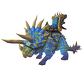 Bright Blue Direhorn